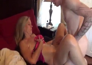 Two guys fucks their older sister in the bedroom
