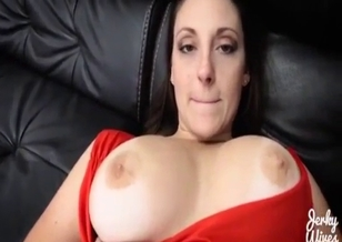 Filthy mommy passionately blows her lucky son