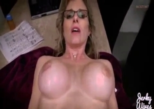 Lovely mom gets impaled by her son in POV