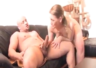 Pretty daughter is giving a dick sucking for her dad
