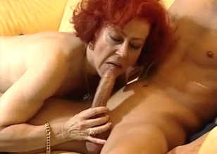 Dirty mom enjoys nasty oral sex with a son