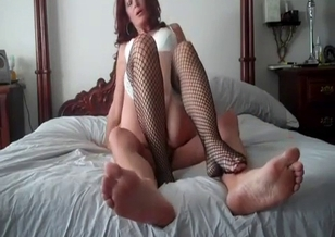 Filthy son and horny mom have an awesome incest fuck