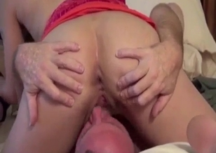 Daddy and two horny daughters have a nice 3some